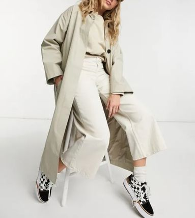 ASOS Casual Style Street Style Plain Long Office Style Oversized