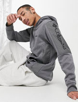 Columbia Pullovers Sweat Street Style Long Sleeves Plain Cotton
