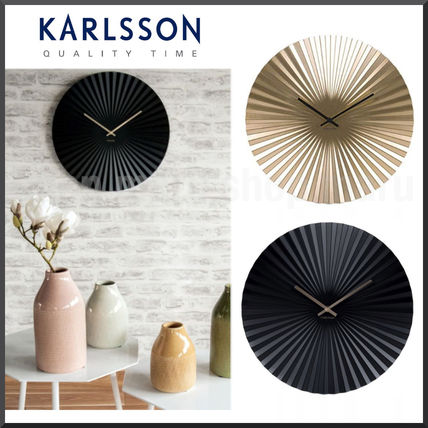 KARLSSON Metallic Clocks
