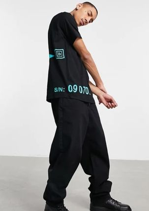 DIESEL More T-Shirts Crew Neck Street Style Cotton Short Sleeves Logo T-Shirts 3