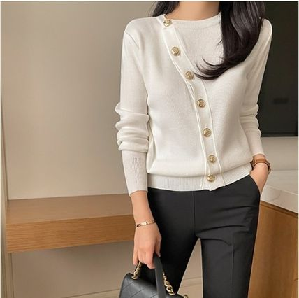 Formal Style  Bridal Short Casual Style Long Sleeves Plain