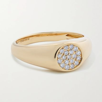 Casual Style Street Style Party Style 14K Gold Fine