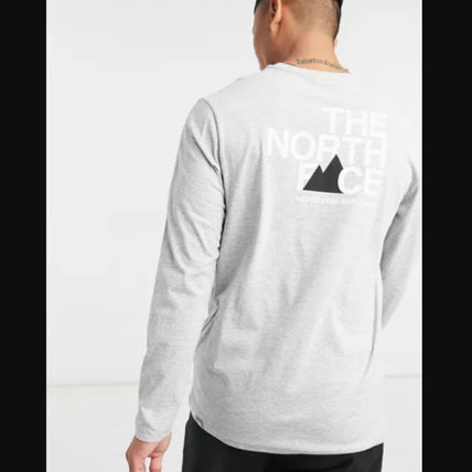 THE NORTH FACE Long Sleeve Street Style Long Sleeves Long Sleeve T-shirt Logo Outdoor 3