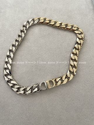 Christian Dior 'Cd Icon' Chain Link Necklace