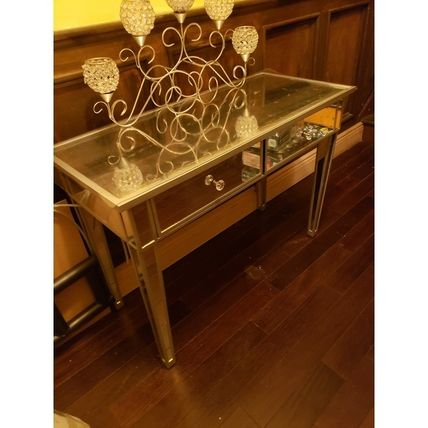 Unisex Gold Furniture Coffee Tables Night Stands
