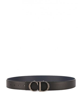 Christian Dior Street Style Leather Logo Belts
