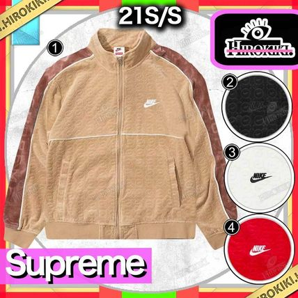 Supreme Logo Unisex Collaboration Street Style Jackets