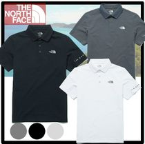 THE NORTH FACE Casual Style Unisex Street Style Polos