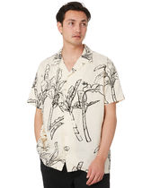 STUSSY Shirts Button-down Tropical Patterns Unisex Street Style Cotton 6