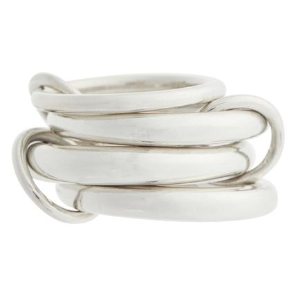 Party Style Silver Elegant Style Bridal Rings