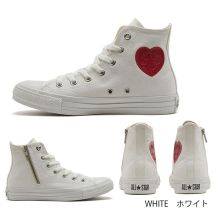 CONVERSE ALL STAR Heart Casual Style Low-Top Sneakers