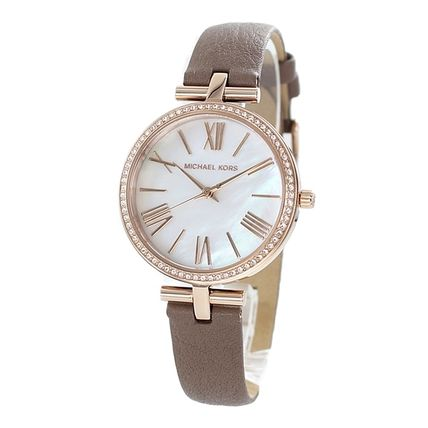 Michael Kors Round Bridal Casual Style Quartz Watches Office Style