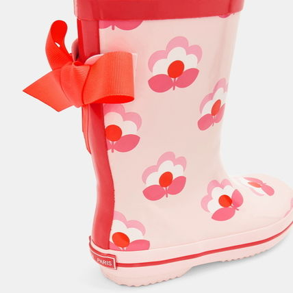 JACADI Kids Girl Rain Shoes