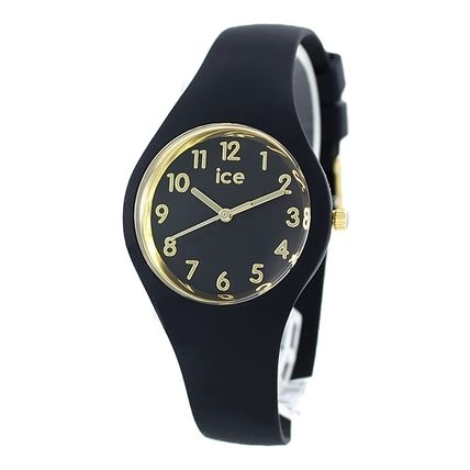 ICE WATCH Casual Style Street Style Silicon Round Quartz Watches