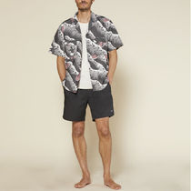 Ron Herman Shirts Button-down Tropical Patterns Blended Fabrics Street Style 7