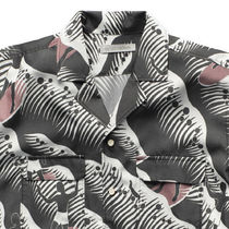 Ron Herman Shirts Button-down Tropical Patterns Blended Fabrics Street Style 8