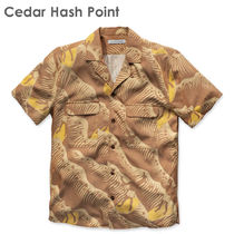 Ron Herman Shirts Button-down Tropical Patterns Blended Fabrics Street Style 10