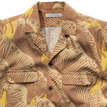 Ron Herman Shirts Button-down Tropical Patterns Blended Fabrics Street Style 12