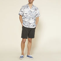 Ron Herman Shirts Button-down Tropical Patterns Blended Fabrics Street Style 14