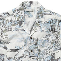 Ron Herman Shirts Button-down Tropical Patterns Blended Fabrics Street Style 15