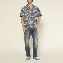 Ron Herman Shirts Button-down Tropical Patterns Blended Fabrics Street Style 18