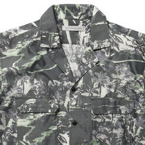 Ron Herman Shirts Button-down Tropical Patterns Blended Fabrics Street Style 19
