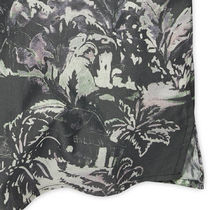 Ron Herman Shirts Button-down Tropical Patterns Blended Fabrics Street Style 20