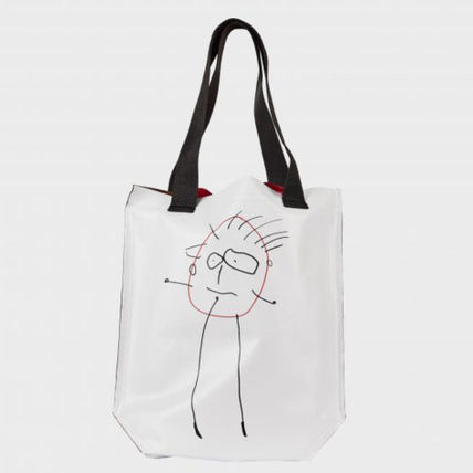 Canvas Casual Style 2WAY Totes