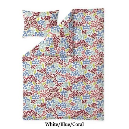 Finlayson Flower Patterns Unisex Pillowcases Comforter Covers Co-ord