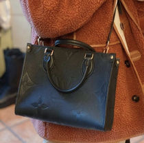 Louis Vuitton Casual Style Calfskin 2WAY Leather Elegant Style Crossbody