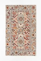 Anthropologie Flower Patterns Unisex Persian Style Carpets & Rugs