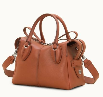Casual Style Unisex 2WAY Plain Leather Office Style