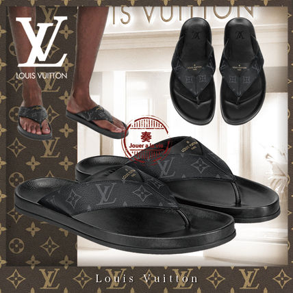 Louis Vuitton Other Plaid Patterns Unisex Blended Fabrics Street Style