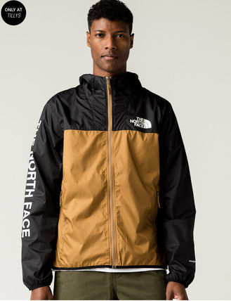 THE NORTH FACE Nylon Jacket  Logo Nylon Street Style Jackets