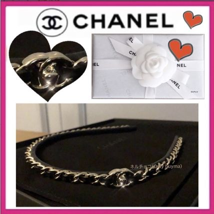CHANEL ICON Chain Elegant Style Hair Accessories