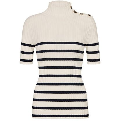 Christian Dior Short-Sleeved Sweater