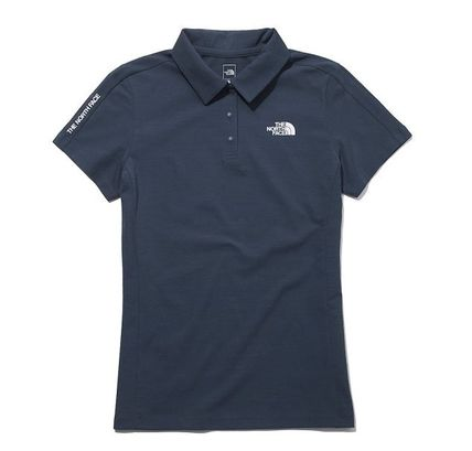 THE NORTH FACE Street Style Short Sleeves Logo Polos