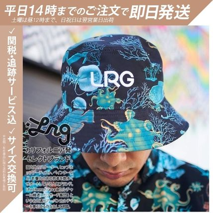 Unisex Street Style Bucket Hats Neon Color Icy Color