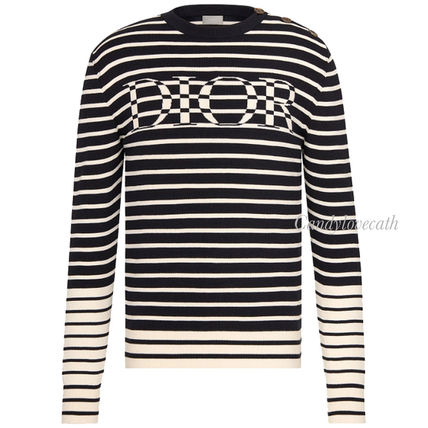 DIOR HOMME Sweaters 'Dior' Striped Sweater