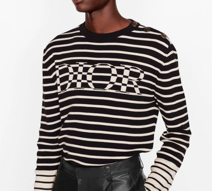 DIOR HOMME Sweaters 'Dior' Striped Sweater 2
