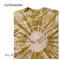 Outer known Long Sleeve Crew Neck Pullovers Street Style Tie-dye Long Sleeves Cotton 7