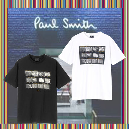 Paul Smith More T-Shirts Short Sleeves Graphic Prints T-Shirts