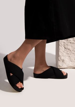 Jil Sander Plain Logo Sandals