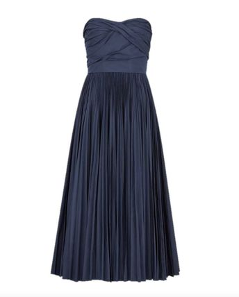 Christian Dior Formal Style  Casual Style A-line Plain Long Party Style