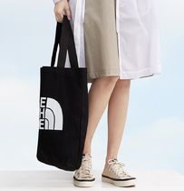 THE NORTH FACE Casual Style Unisex Street Style Totes