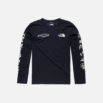 THE NORTH FACE Long Sleeve T-shirt Logo Outdoor Crew Neck Long Sleeves
