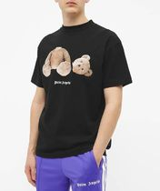 Palm Angels More T-Shirts Unisex Street Style T-Shirts 16
