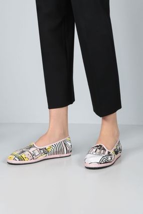 Round Toe Rubber Sole Casual Style Party Style Office Style
