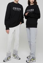 Charm's Unisex Street Style Long Sleeves Cotton