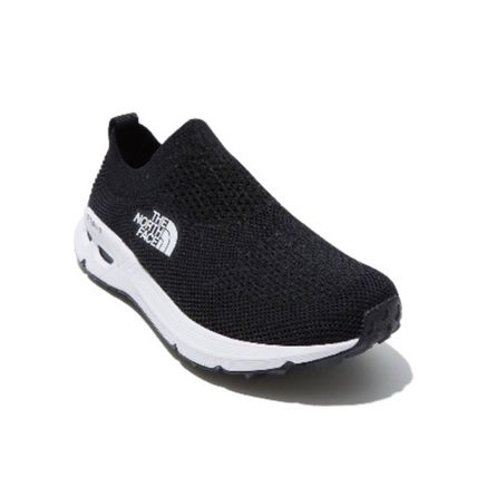 THE NORTH FACE WHITE LABEL Logo Unisex Faux Fur Plain Street Style Loafers & Slip-ons